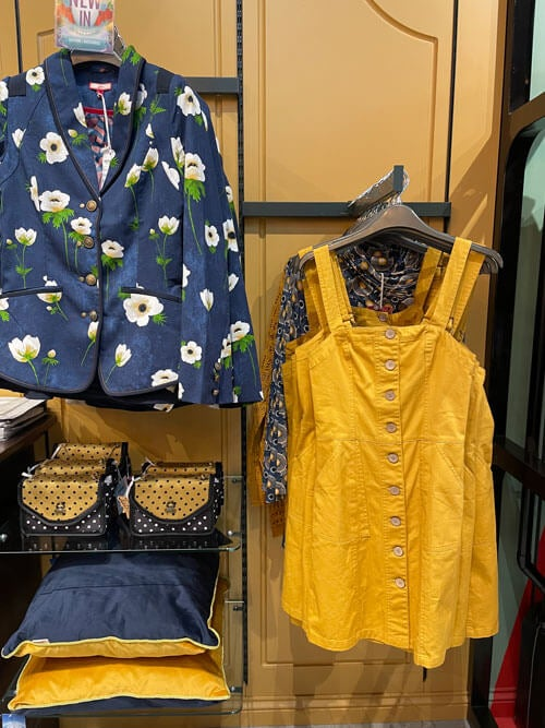 Mustard Pinafore Dress