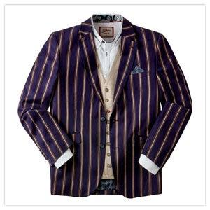 Snazzy In Stripe Blazer