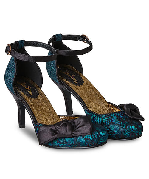 Starlet Lace Evening Shoes