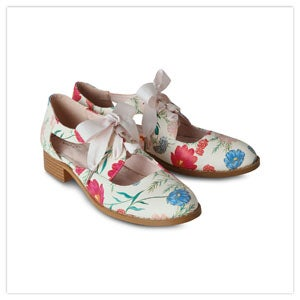 English Meadows Cut Out Shoes