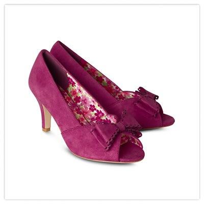 Vivacious Bow Shoes
