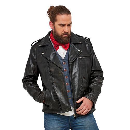 Almost Vintage Leather Jacket