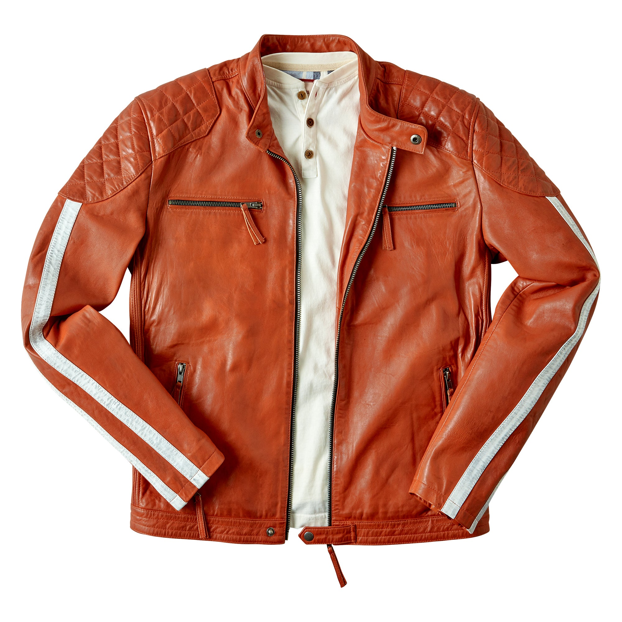 Road Holder Leather Jacket