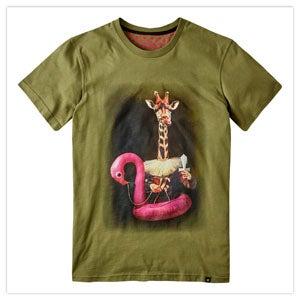Giraffe Splash Tee