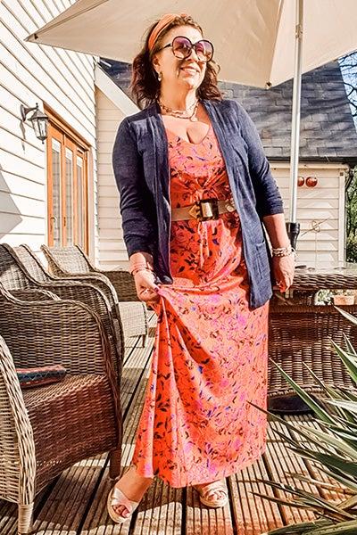 Viviacious Maxi Dress