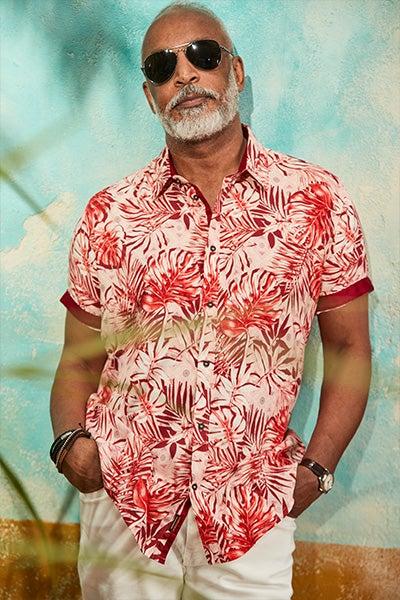 Geo Leaf Shirt