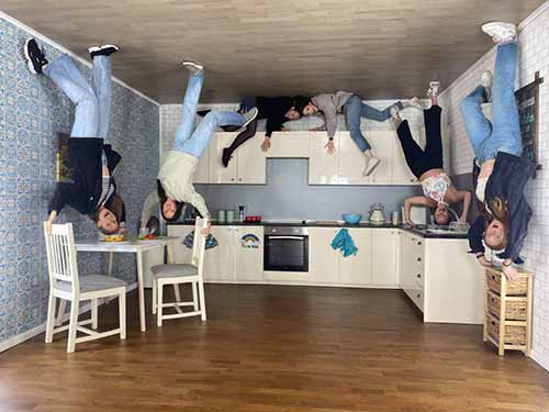 Upside Down House Brighton