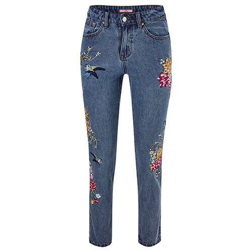 Eclectic Embroidered Jeans