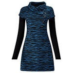 Blue Zebra Tunic