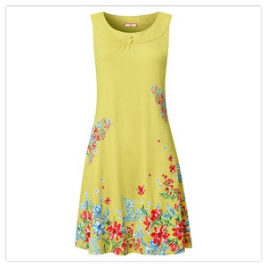 Floral Butterfly Tunic