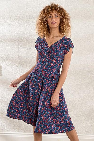 Marvellous Meadows Floral Dress