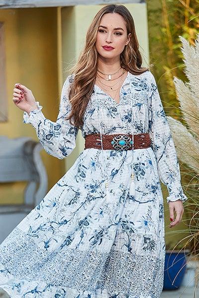 Beachy Keen Maxi Dress