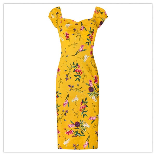 Flattering Vintage Style Dress