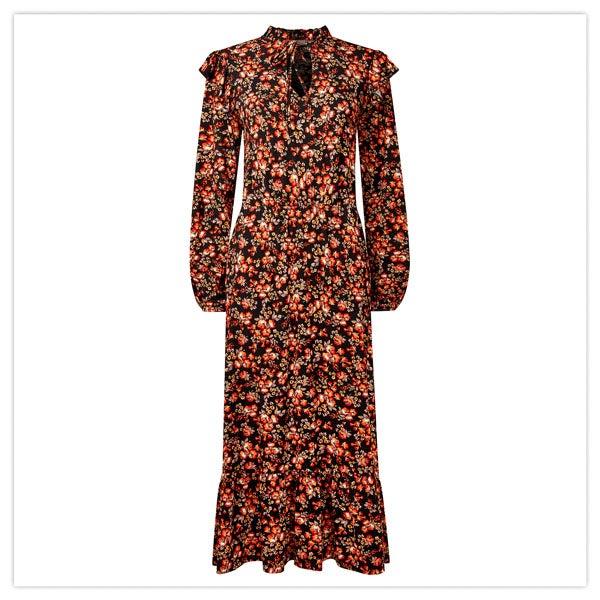 Enchanting Autumn Dress