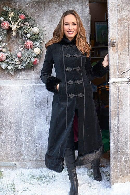 Ultimate Velvet Coat