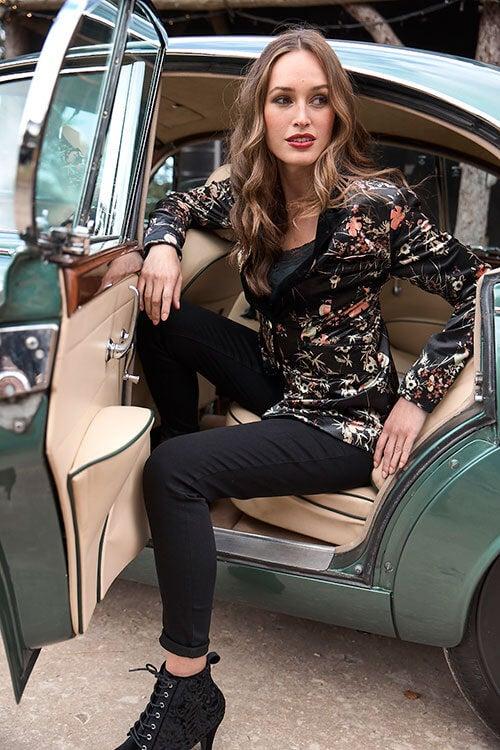 Valentina Velvet Jacket