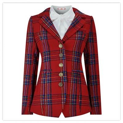 Ravishing Check Jacket