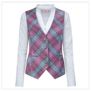 Summertime Check Waistcoat