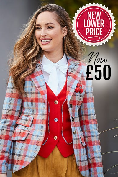 Funky Check Jacket