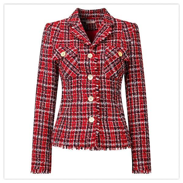 Chic Check Jacket
