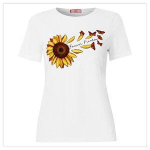 Feeling Fabulous Sunflower Tee