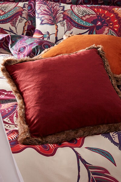 Jumbo Velvet Reversible Cushion
