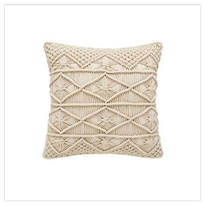 Marvellous Macrame Cushion