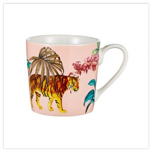 Truly Tropical Set Of 4 Mugs