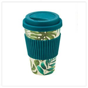Truly Tropical Bamboo Travel Mug