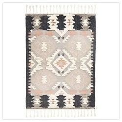 Terrific Tufted Wool Rug