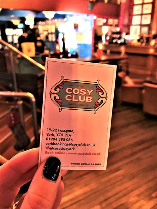 Cosy Club Fossgate York - Behind The Scenes