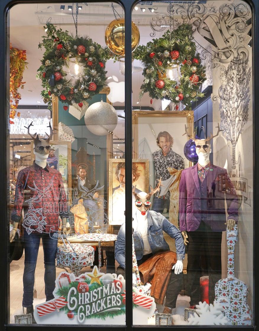 Festive Store Front