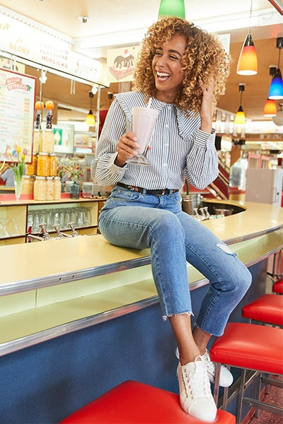 Distressed Must-Have Jeans