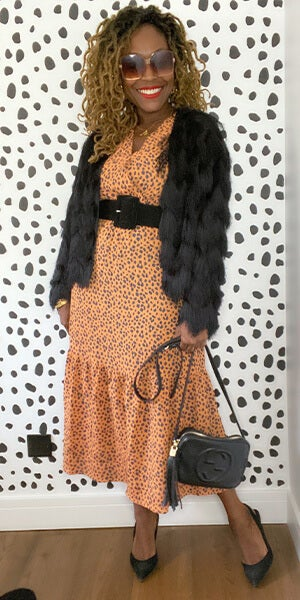 Sensational Spotty Dress