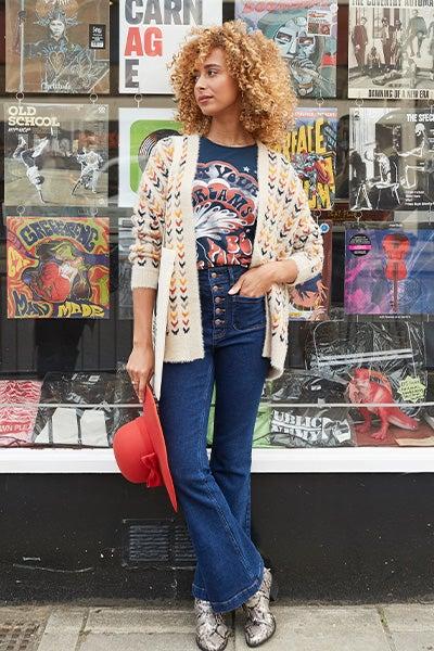 Vintage Valerie Flared Jeans