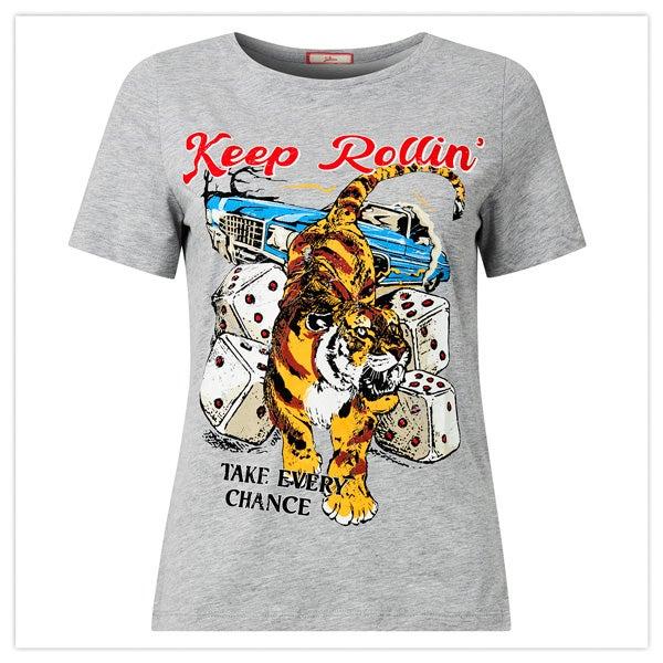 Keep Rollin Graphic Tee