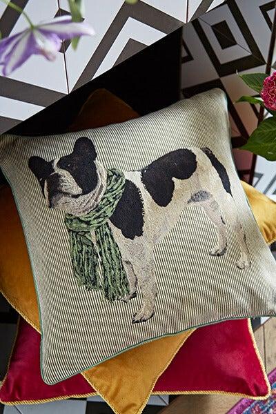 Boston Terrier Cushion