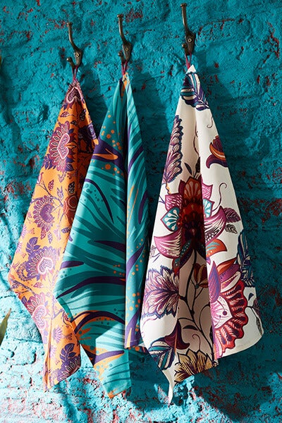 Escape to Africa Set Of 3 Teatowels